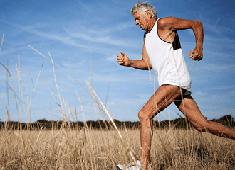 Por cada hora que corre, acrescenta sete à sua esperança de vida