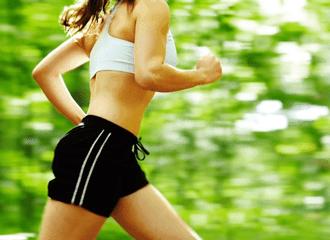 mulher corredora