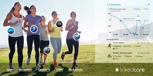 Sincronização com sensores de desporto